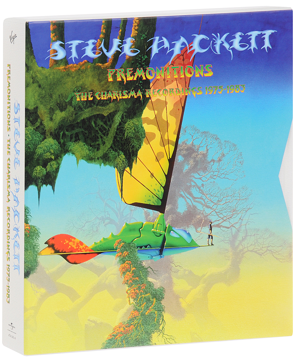 Стив Хэкетт Steve Hackett. Premonitions: The Charisma Recordings 1975-1983 (10 CD + 4 DVD) the vamps the vamps meet the vamps