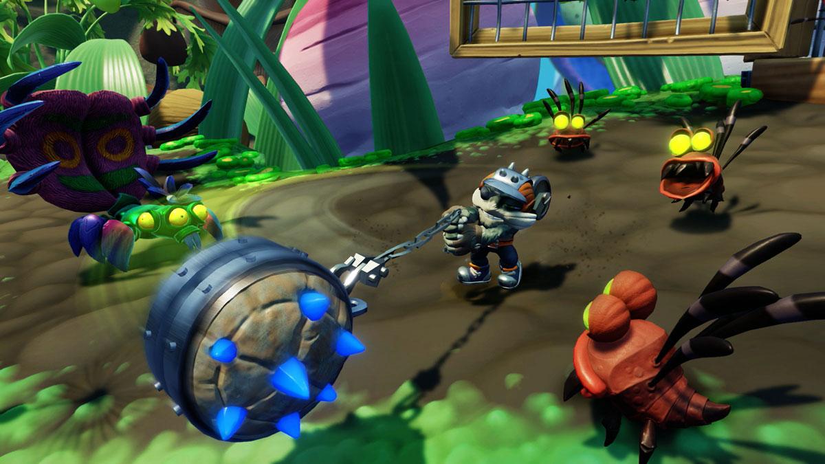 Skylanders SuperChargers. Интерактивная фигурка Smash Hit Activision