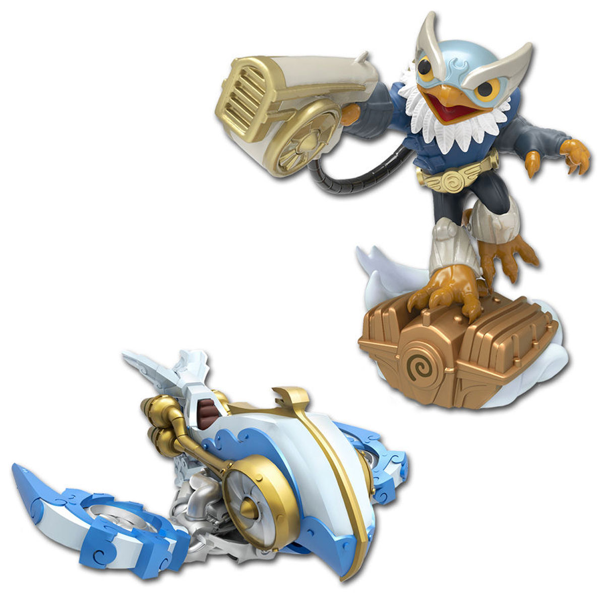 Skylanders SuperChargers. Набор из 2 фигурок Dual Pack (Air) sades a60 usb gaming headphones for computer laptop pc gamer super bass game headset best casque with microphone noise isolating