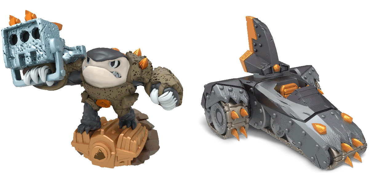 Skylanders SuperChargers. Набор из 2 фигурок Dual Pack (Earth) skylanders imaginators набор из 8 кристаллов стихии tech life undead earth water light magic dark