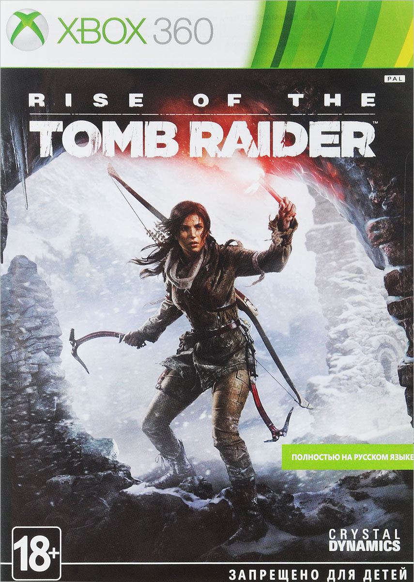 Rise of the Tomb Raider (Xbox 360) видеоигра для pc медиа rise of the tomb raider 20 летний юбилей