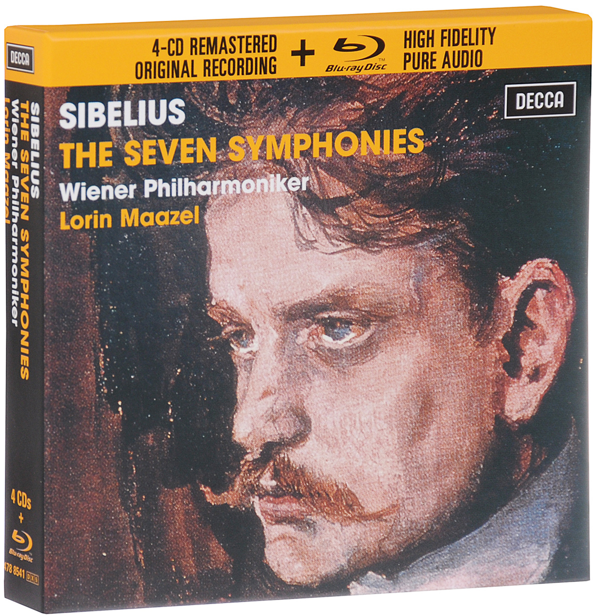 Лорин Маазель,Wiener Philharmoniker Lorin Maazel. Sibelius. The Seven Symphonies. Limited Edition (4 CD + Blu-Ray Audio) 6av6 642 0dc01 1ax0 op 177b key panel 90 days warranty
