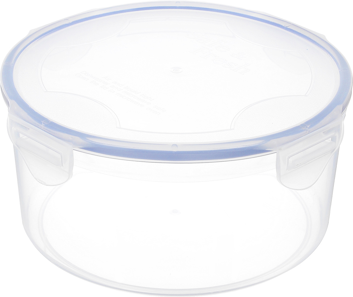Контейнер пищевой Tek-a-Tek, 1,4 л9680-TVПищевой контейнер Tek-a-Tek выполнен из высококачественного пластика. Изделие оснащено четырехсторонними петлями-замками и силиконовой прокладкой на внутренней стороне крышки. Это позволяет воде и воздуху не попадать внутрь, сохраняется герметичность. Изделие абсолютно нетоксично при любом температурном режиме. Можно использовать в посудомоечной машине, а так же в микроволновой печи (без крышки), замораживать до -20°С и размораживать различные продукты без потери вкусовых качеств.