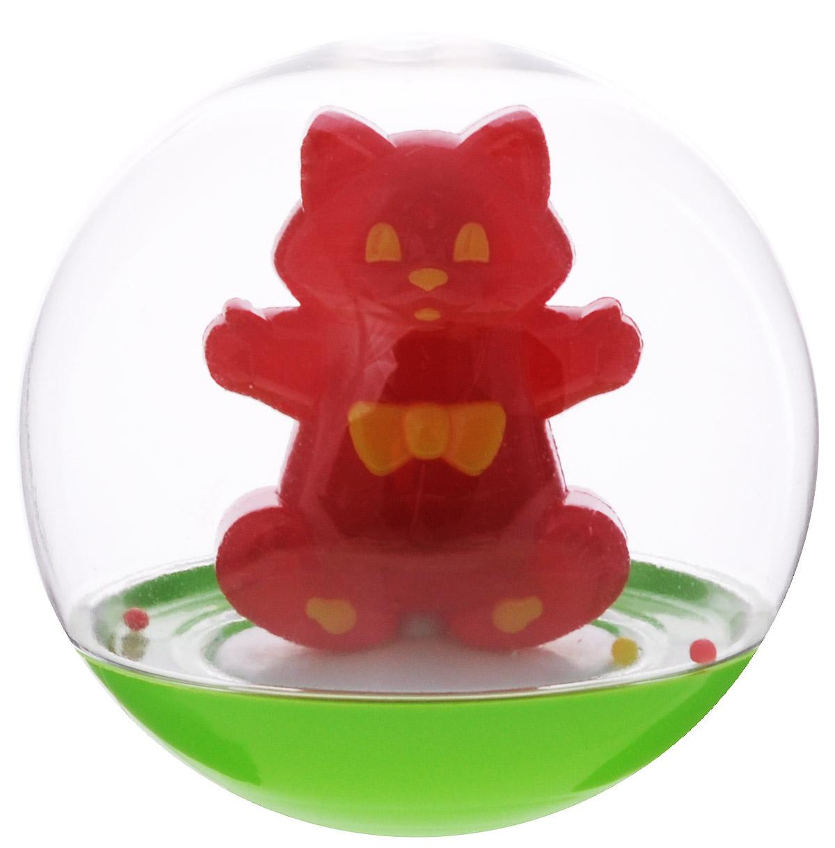 Stellar Погремушка-неваляшка Кот цвет красный stellar погремушка клоун красный
