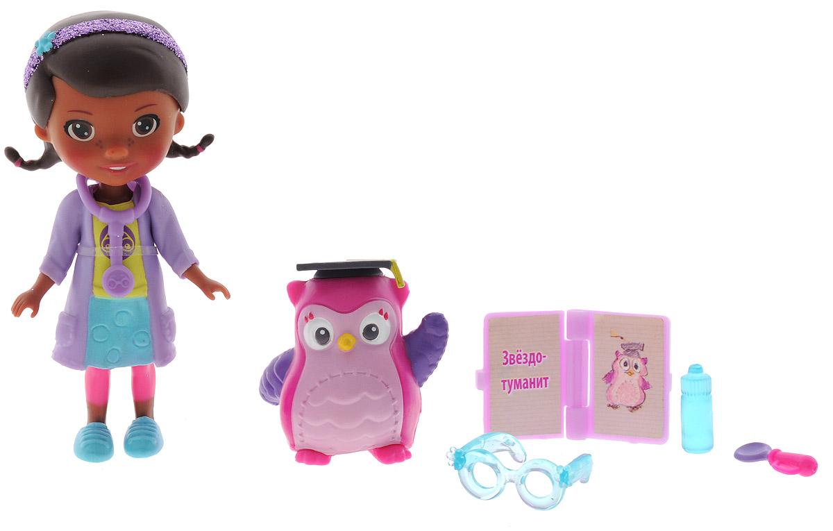 Disney Игровой набор Доктор Плюшева Глазной доктор и профессор сова игровой набор disney доктор плюшевева друзья дотти 16 см в ассортименте