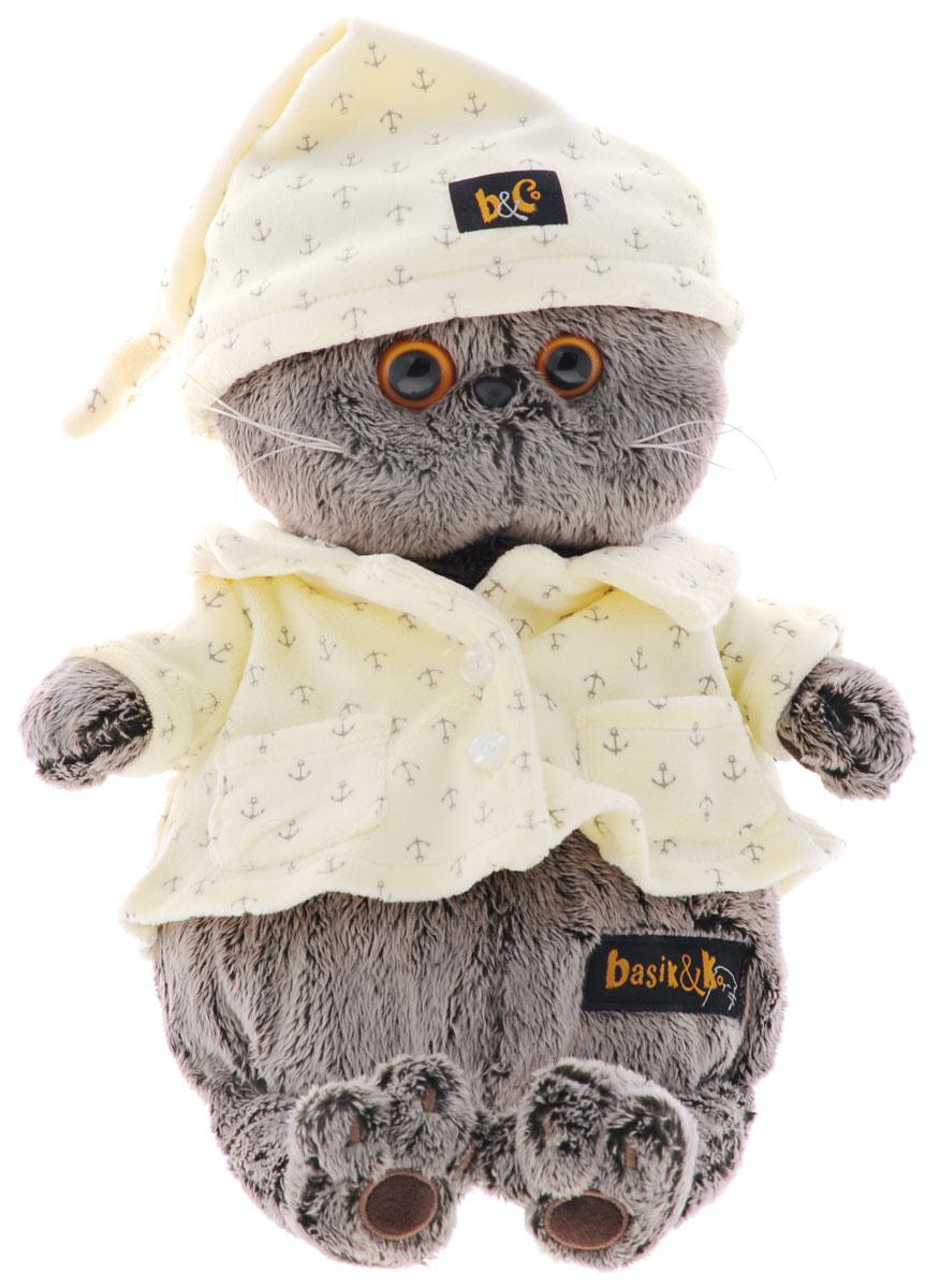Мягкая игрушка Басик в пижаме 30 см пальто басик