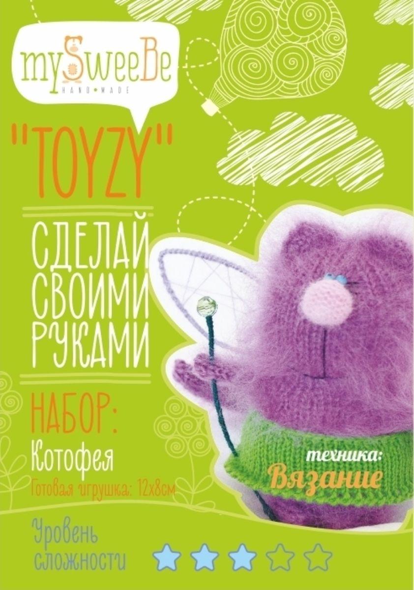 Toyzy Набор по вязанию Котофея