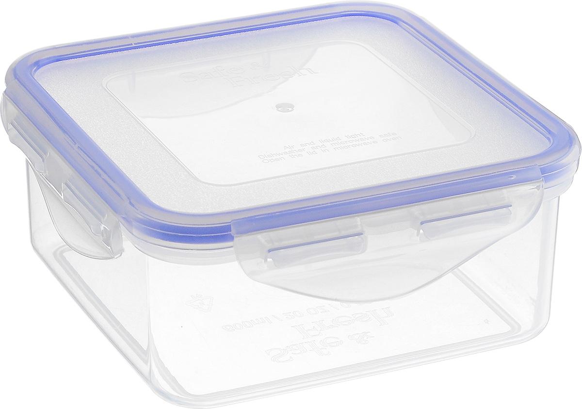 Контейнер пищевой Tek-a-Tek, 860 млSF1-2Пищевой контейнер Tek-a-Tek выполнен из высококачественного пластика. Изделие оснащено четырехсторонними петлями-замками и силиконовой прокладкой на внутренней стороне крышки. Это позволяет воде и воздуху не попадать внутрь, сохраняется герметичность. Изделие абсолютно нетоксично при любом температурном режиме. Можно использовать в посудомоечной машине, а так же в микроволновой печи (без крышки), замораживать до -20°С и размораживать различные продукты без потери вкусовых качеств.