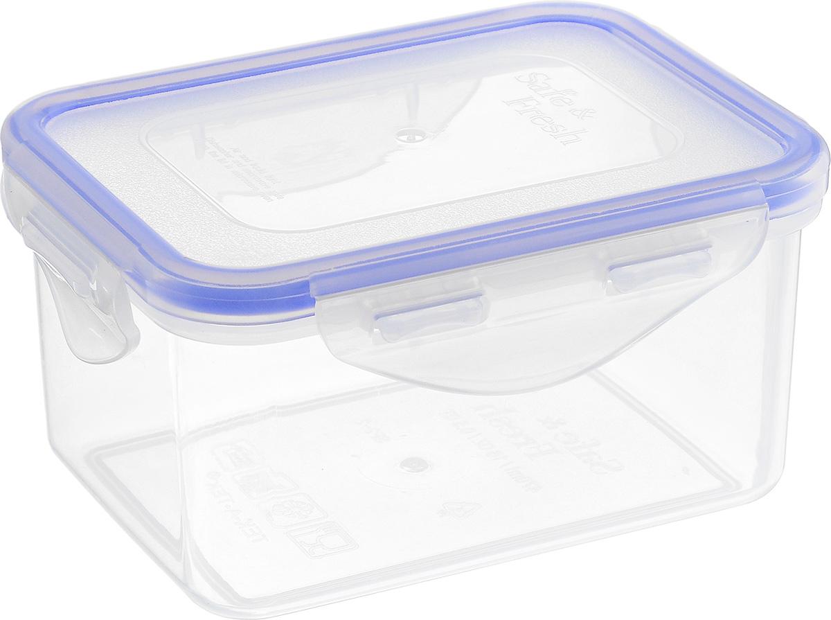 """Пищевой контейнер """"Tek-a-Tek"""" выполнен из высококачественного пластика. Изделие оснащено четырехсторонними петлями-замками и силиконовой прокладкой на внутренней стороне крышки. Это позволяет воде и воздуху не попадать внутрь, сохраняется герметичность. Изделие абсолютно нетоксично при любом температурном режиме. Можно использовать в посудомоечной машине, а так же в микроволновой печи (без крышки), замораживать до -20°С и размораживать различные продукты без потери вкусовых качеств."""
