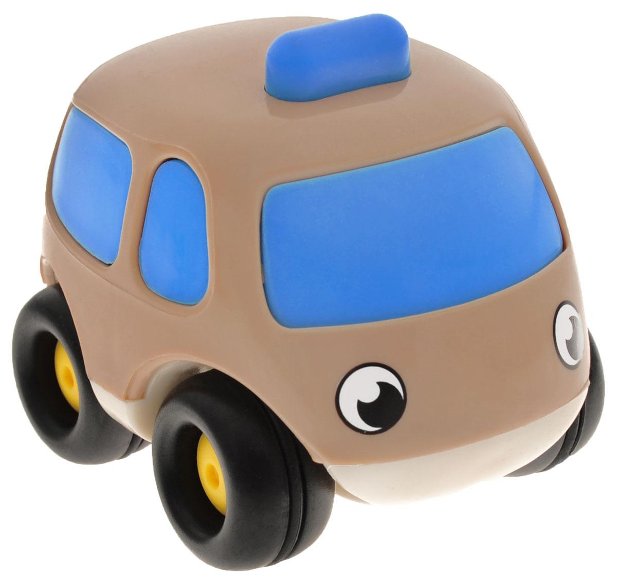 Smoby Мини-машинка Vroom Planet цвет коричневый голубой smoby машинка vroom planet цвет фиолетовый