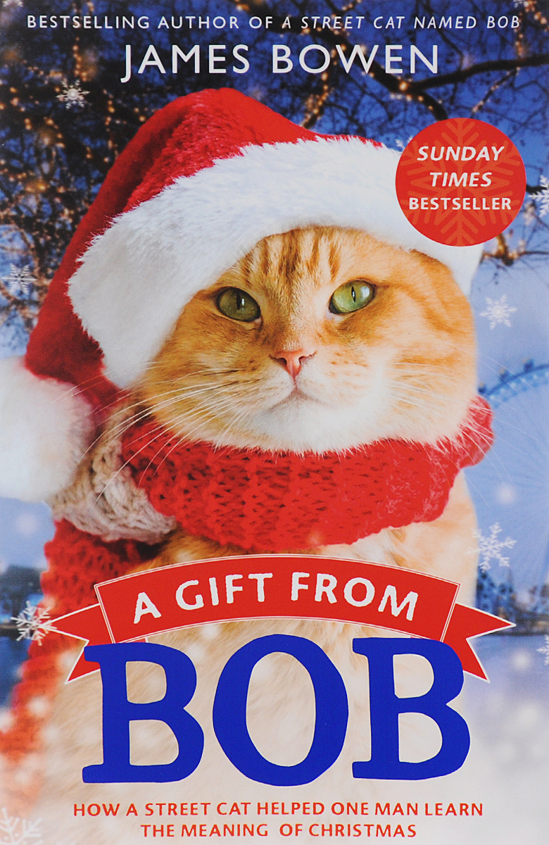 A Gift from Bob a street cat named bob how one man and his cat found hope on the streets