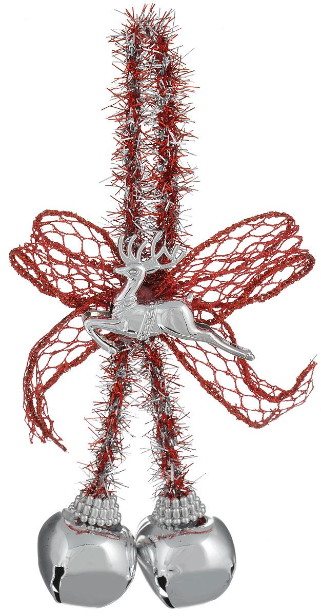 Новогоднее подвесное украшение Феникс-презент Бубенцы с оленем трынцы брынцы бубенцы