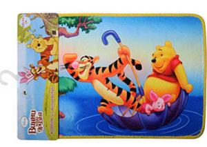 Коврик для ванной комнаты Disney Винни и его друзья, 60 х 40 см60634_на зонтеКоврик из микрофибры 60*40см Винни и его друзья,арт.60634/16/4