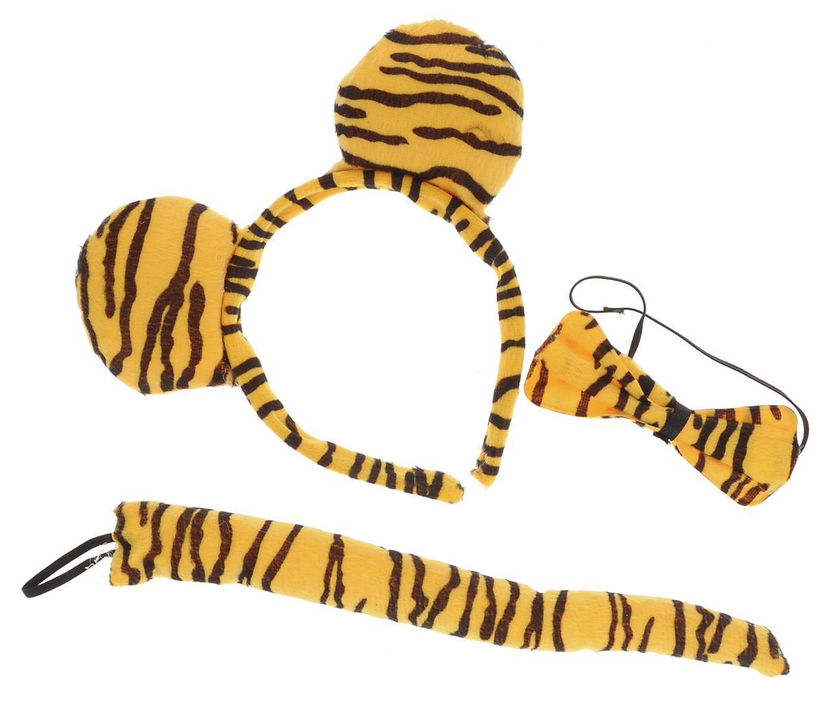 Набор маскарадный Феникс-Презент Тигр, 3 предмета феникс презент