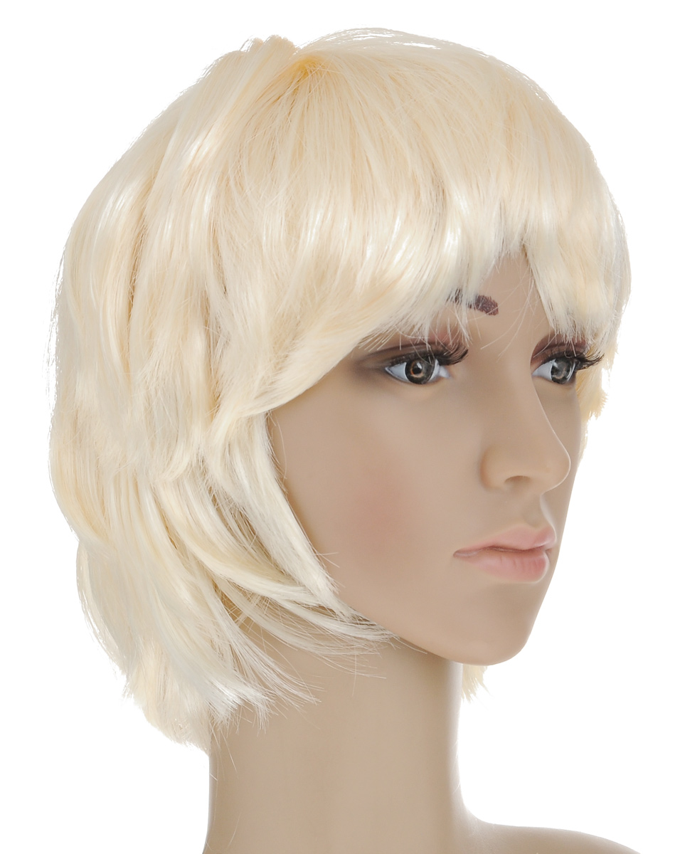 Парик маскарадный Феникс-Презент Блондин маскарадный парик бунтарка