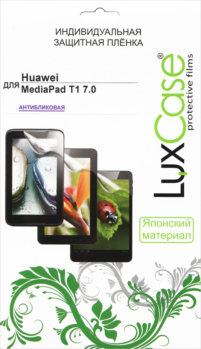 Luxcase защитная пленка для Huawei MediaPad T1 7.0, антибликовая screen for huawei mediapad t1 7 0 3g 702 702u 702u t1 702 t1 702u t1 702u lcd display and with touch screen digitizer assembly