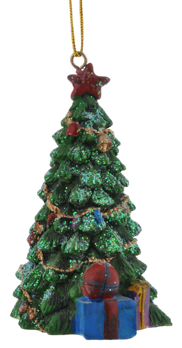 Новогоднее подвесное украшение Феникс-Презент, 9 см х 5,5 см сувенир феникс презент изделие ароматическое ваниль гипсовое подвесное 21 9 4 9 3 4см 36863