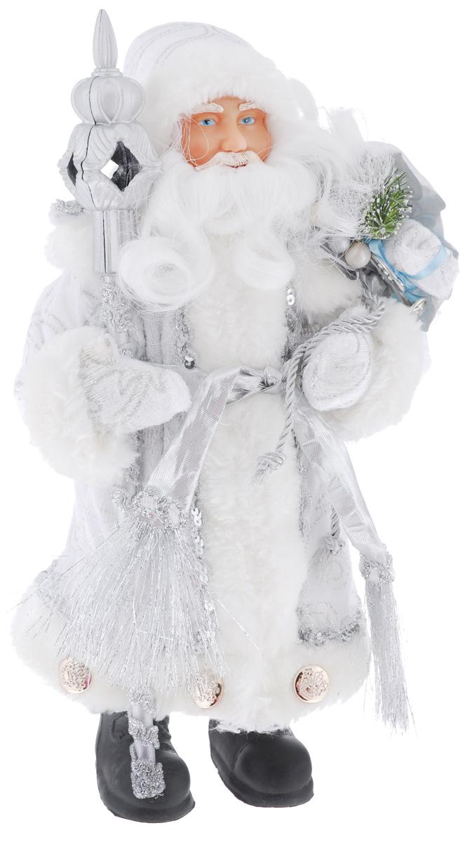 Кукла декоративная Феникс-Презент Дед Мороз в костюме, на подставке, высота 30 см. 3909439094Великолепная кукла Феникс-Презент «Дед Мороз в костюме» займет достойное место в вашей коллекции. Туловище куклы мягконабивное. Ее можно поместить в любом понравившемся месте. Такая кукла станет чудесным подарком на Новый год.