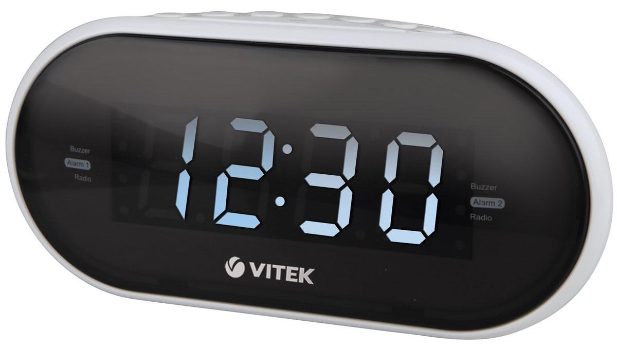 Vitek VT-6602(W) радиочасы радиочасы vitek vt 6602
