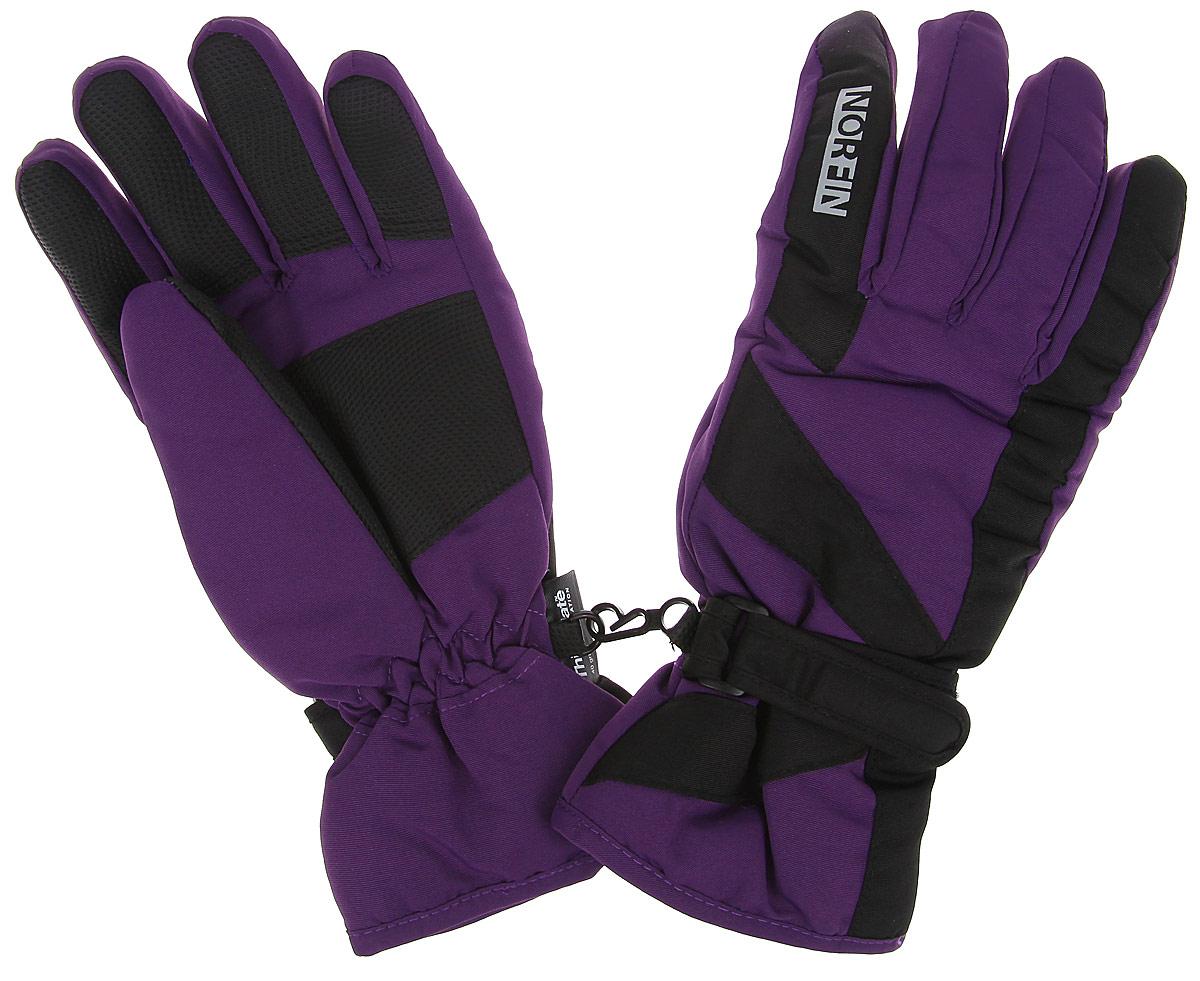 Перчатки женские Norfin Ultimate Protection, цвет: фиолетовый, черный. 705066. Размер M (7,5/8)705066Ветрозащитные перчатки Norfin Ultimate Protection с ветрозащитным покрытием, станут идеальным вариантом для холодной зимней погоды. Утеплитель Thinsulate хорошо сохраняет тепло. Для большего удобства на запястьях перчатки дополнены эластичными резинками и хлястиками на липучках, а на ладошках, кончиках пальцев и с внутренней стороны большого пальца - усиленными вставками. Также имеется застежка для скрепления перчаток.