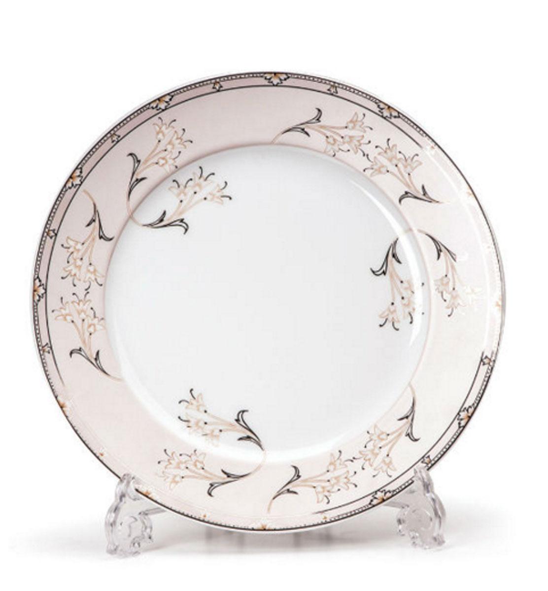Набор десертных тарелок La Rose des Sables Isis, диаметр 19 см, 6 шт539114 1558Набор La Rose des Sables Isis состоит из шести десертных тарелок, выполненных из высококачественного фарфора. Изделия декорированы оригинальным принтом. Тарелки имеют круглую форму.Такой набор изящно украсит сервировку стола и порадует вас изящным дизайном. Диаметр (по верхнему краю): 19 см.
