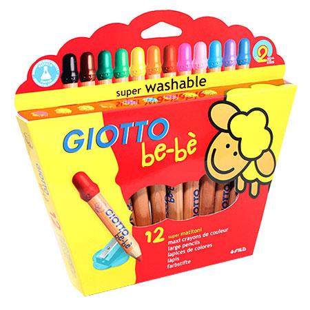 Цветные карандаши Giotto Bebe Super Largepencils, c точилкой, 12 цветов466500 От производителяЦветные карандаши Glotto Bebe Super Largepencils непременно, понравятся вашему юному художнику. Набор включает в себя 12 ярких насыщенных цветных карандаша утолщенной формы. Каждый карандаш имеет защитный колпачок. Идеально подходят для детских садов и школьников младших классов. Карандаши изготовлены из калифорнийского кедра, экологически чистые. Имеют прочный неломающийся грифель, не требующий сильного нажатия и легко затачиваются. Без труда стираются и отстирываются. Порадуйте своего ребенка таким восхитительным подарком! В комплекте: 12 карандашей, точилка.Цветные карандаши Glotto Bebe Super Largepencils непременно, понравятся вашему юному художнику. Набор включает в себя 12 ярких насыщенных цветных карандаша утолщенной формы. Каждый карандаш имеет защитный колпачок. Идеально подходят для детских садов и школьников младших классов. Карандаши изготовлены из калифорнийского кедра, экологически чистые. Имеют прочный неломающийся грифель, не требующий сильного нажатия и легко затачиваются. Без труда стираются и отстирываются. Порадуйте своего ребенка таким восхитительным подарком! В комплекте: 12 карандашей, точилка. Характеристики:Материал:дерево, грифель. Диаметр карандаша:1,2 см. Длина карандаша:12,5 см. Размер упаковки:22 см х 22,5 см х 2 см. Изготовитель:Китай.