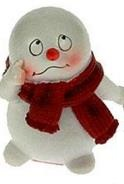 Фигурка декоративная Снеговик в шарфе 1 . 1941219412_снеговик в шарфеФигурка декоративная Снеговик в шарфе 1 . 19412