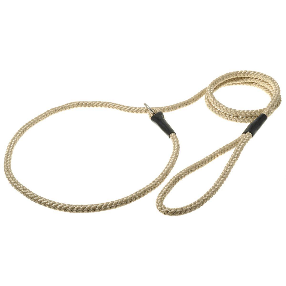 Поводок для собак V.I.Pet, цвет: кэмел, диаметр 8 мм, длина 1,7 м поводок для собак collar soft цвет коричневый диаметр 6 мм длина 1 83 м