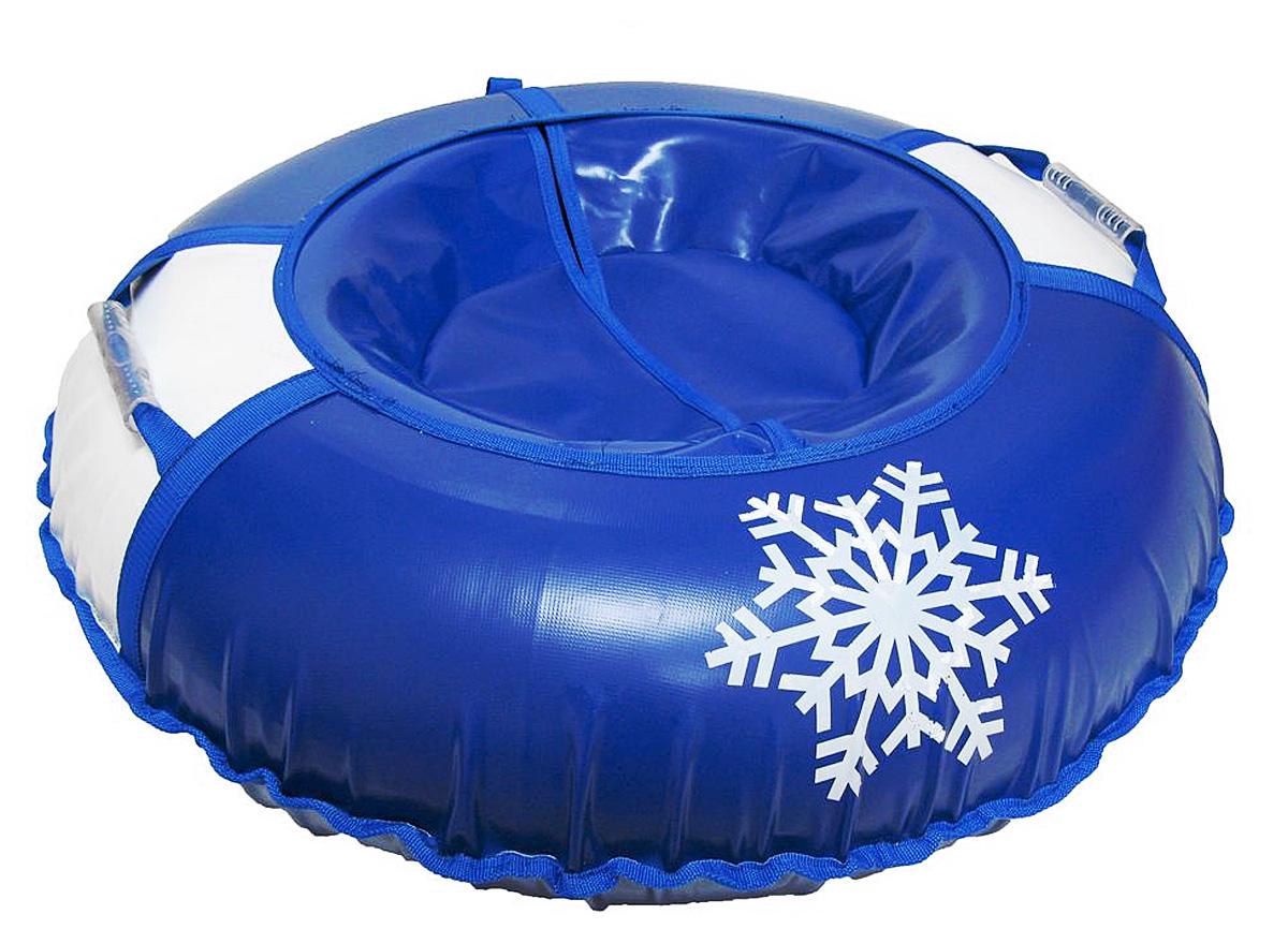 Санки надувные Иглу Снежинка, цвет: синий, белыйАрт2121123002622Любимая детская зимняя забава - это кататься с горки. Надувные санки Снежинка - это отличный вариант для тех, кто любит весело проводить время на свежем воздухе.Надувные санки Снежинка - это оригинальные круглые санки с простым дизайном, использованием износостойких материалов и комплектацией, достаточной для регулярного катания.Санки оборудованы плотной лентой для удобной буксировки. Комплектация: автомобильная камера согласно техническим условиям, упаковочный чехол, инструкция по эксплуатации на русском языке.Диаметр в накаченном состоянии: 90 см.Используемые камеры: R-15.Рекомендованное давление 0.1 Атм.УВАЖАЕМЫЕ КЛИЕНТЫ!Просим обратить ваше внимание на тот факт, что санки поставляются в сдутом виде и надуваются при помощи насоса (насос не входит в комплект).Зимние игры на свежем воздухе. Статья OZON Гид