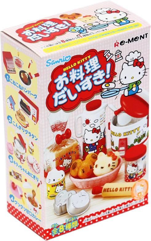 Hello Kitty Мини-фигурки Я люблю готовить игрушки для кукольных домиков re ment re ment