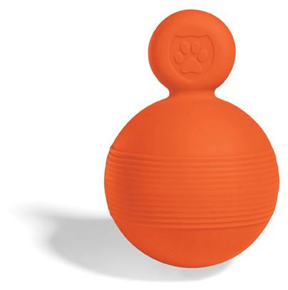 Игрушка мяч Tug&Toss Boll Safe, - Большая, красная,10 см. 8pk aqua kem toss in