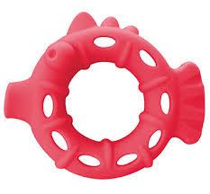 """Игрушка для кошек SafeMade """"Рыбка"""", цвет: розовый, 13,3 х 11 х 3,2 см"""