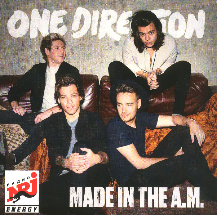 One Direction One Direction. Made In The A.M. тетрадь на скрепке printio one direction made in the am