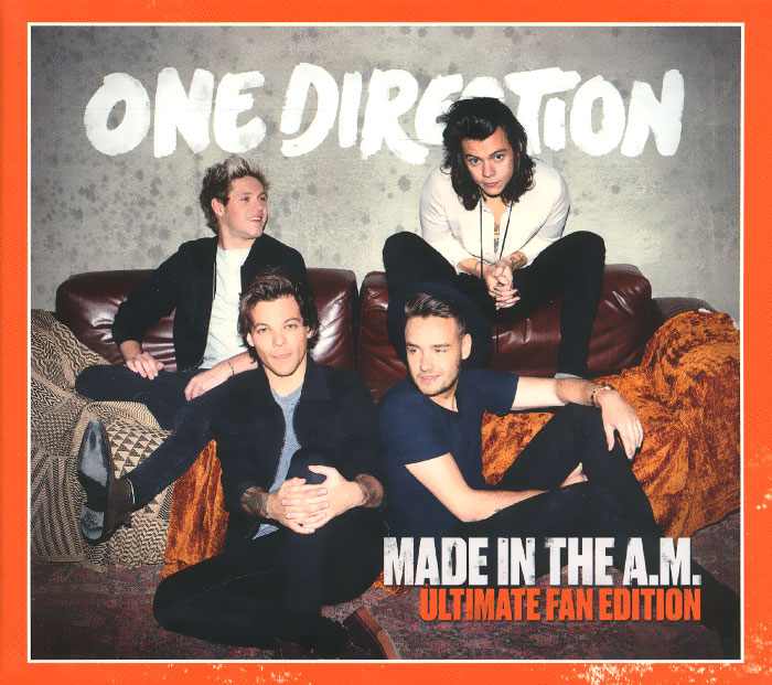 One Direction One Direction. Made In The A.M. The Deluxe Edition тетрадь на скрепке printio one direction made in the am