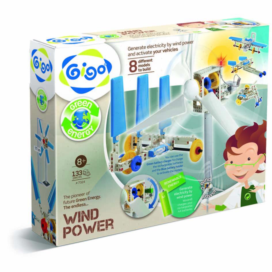 Gigo Конструктор Wind-power (Гиго. Энергия ветра)