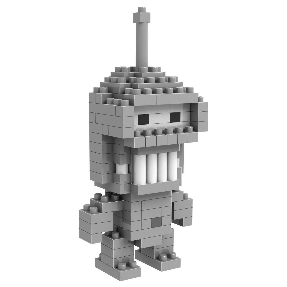 Loz Мини-конструктор Diamond Block Робот Бендер loz creator mini diamond building block space shuttle launch center scene nanoblock model bricks educational toys collection