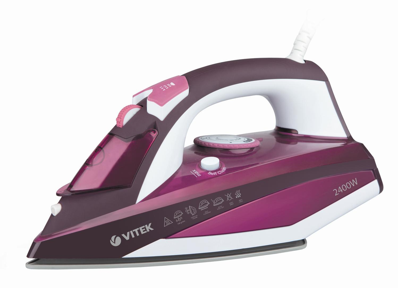 Vitek VT-1215(PK) утюг утюг vitek vt 1266 b 2400вт голубой