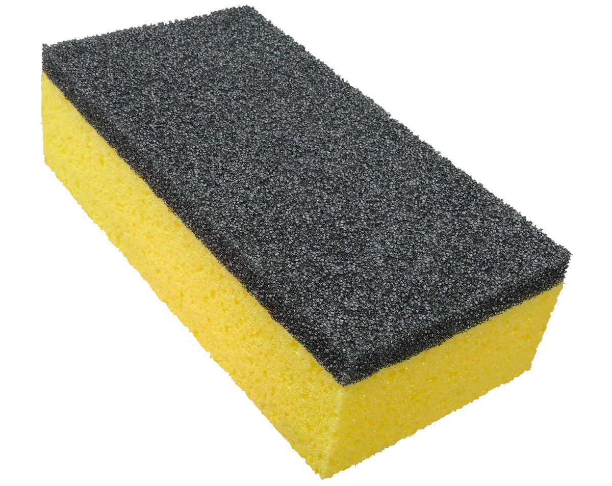 Губка для автомобиля York Auto, двусторонняя1203Губка York Auto изготовлена из полиэстеровой и полиуретановой пен, которые обеспечивают бережный уход за покрытием автомобиля. С одной стороны, губка желтого цвета с пористой структурой, которая нежно моет кузов, а также окна машины. С другой стороны – губка серого цвета, с очень пористой структурой сделана из специального материала, для удаления сильных загрязнений (насекомые, грязь), или для мытья дисков. Два вида губок идеально удаляют загрязнения, не размазывая по очищенной поверхности. Как один, так и другой слой губки – не царапает очищенной поверхности и не оставляет разводов. Превосходно пенится, даже при небольшом количестве моющих средств.Размер губки: 21 х 10,5 х 6,5 см.
