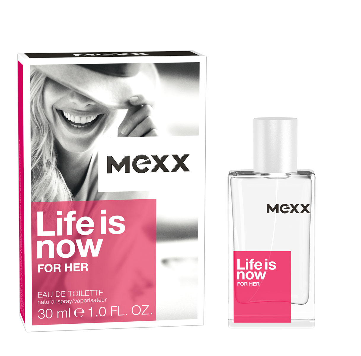 Mexx Life Is Now Woman Туалетная вода, 30 мл mexx pure woman