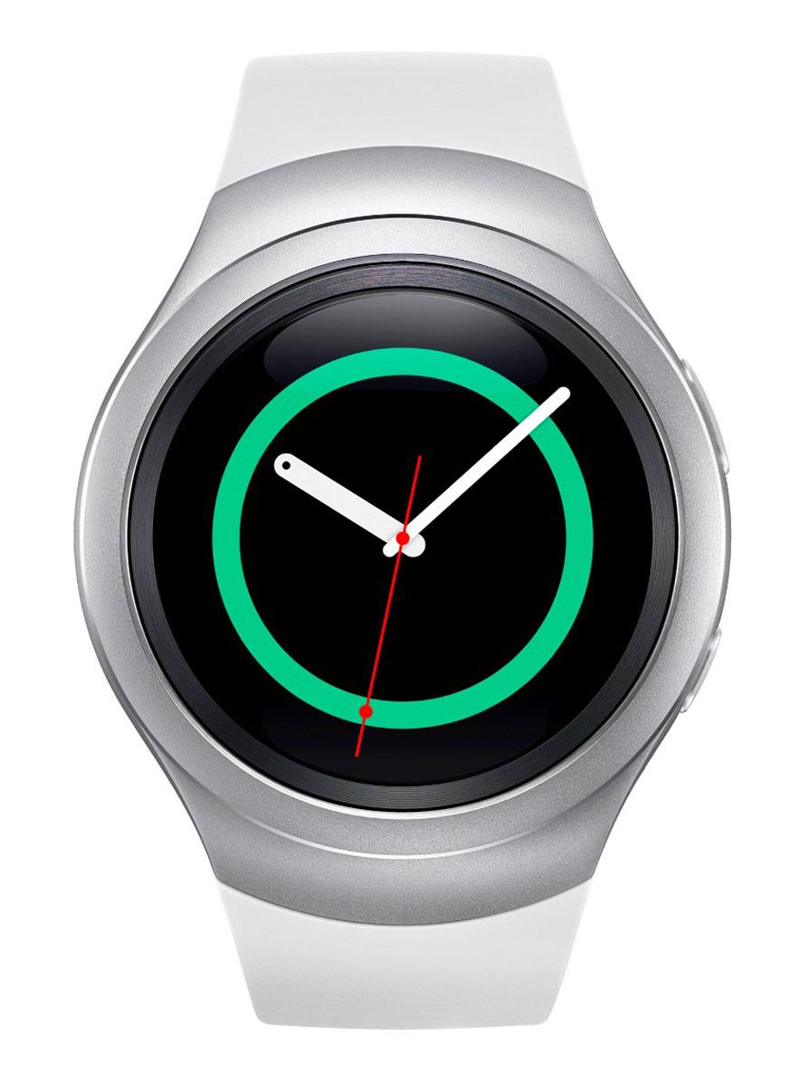 Samsung Gear S2 (SM-R720), White смарт-часы - Умные часы