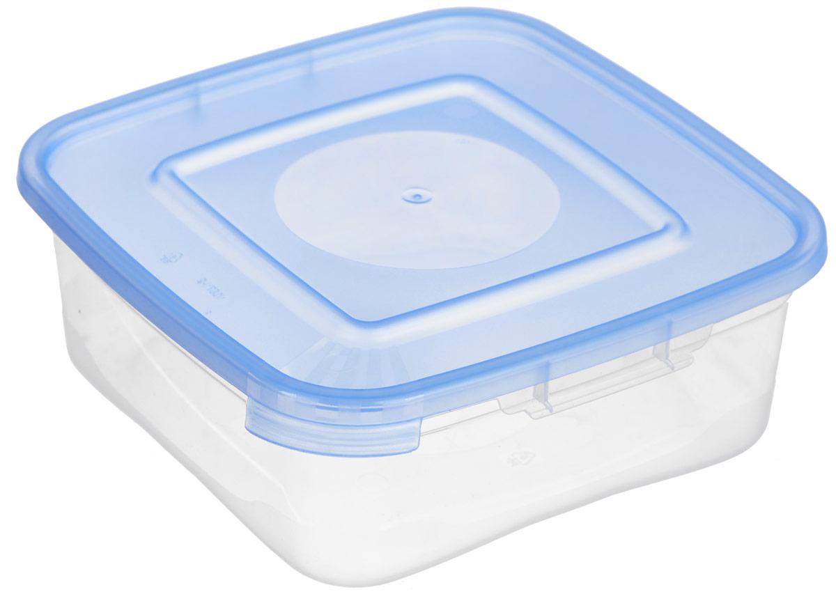 Контейнер для СВЧ Полимербыт Каскад, цвет: голубой, прозрачный, 700 млС640_голубойКонтейнер для СВЧ Полимербыт Каскад изготовлен из высококачественного прочного пластика, устойчивого к высоким температурам (до +110°С). Стенки контейнера прозрачные, что позволяет видеть содержимое. Цветная полупрозрачная крышка плотно закрывается. Контейнер идеально подходит для хранения пищи, его удобно брать с собой на работу, учебу, пикник или просто использовать для хранения пищи в холодильнике.Можно использовать в микроволновой печи и для заморозки в морозильной камере. Можно мыть в посудомоечной машине.