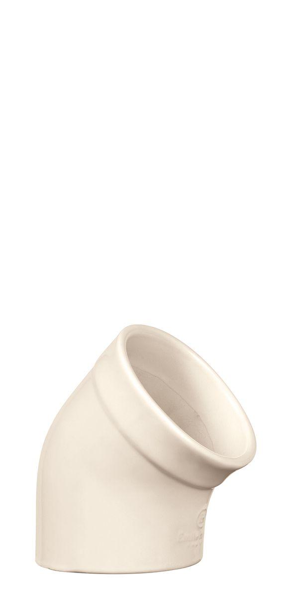 Солонка Emile Henry Natural Chic, цвет: кремовый, диаметр 10 см солонка emile henry natural chic цвет гранат диаметр 10 см