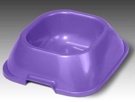 Миска для животных VanNess, цвет: фиолетовый, 2 л1022Миска для животных VanNess, изготовленная из цветного пластика, предназначена для подачи корма и воды. Объем: 2 л.