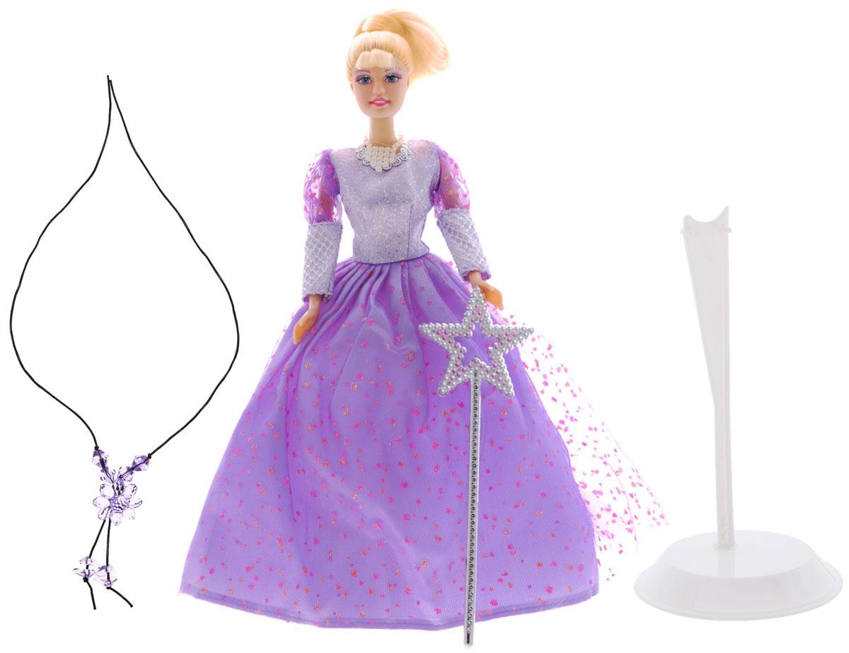 Defa Кукла Lucy Фея цвет одежды сиреневый кукла defa lucy гимнастка 8352