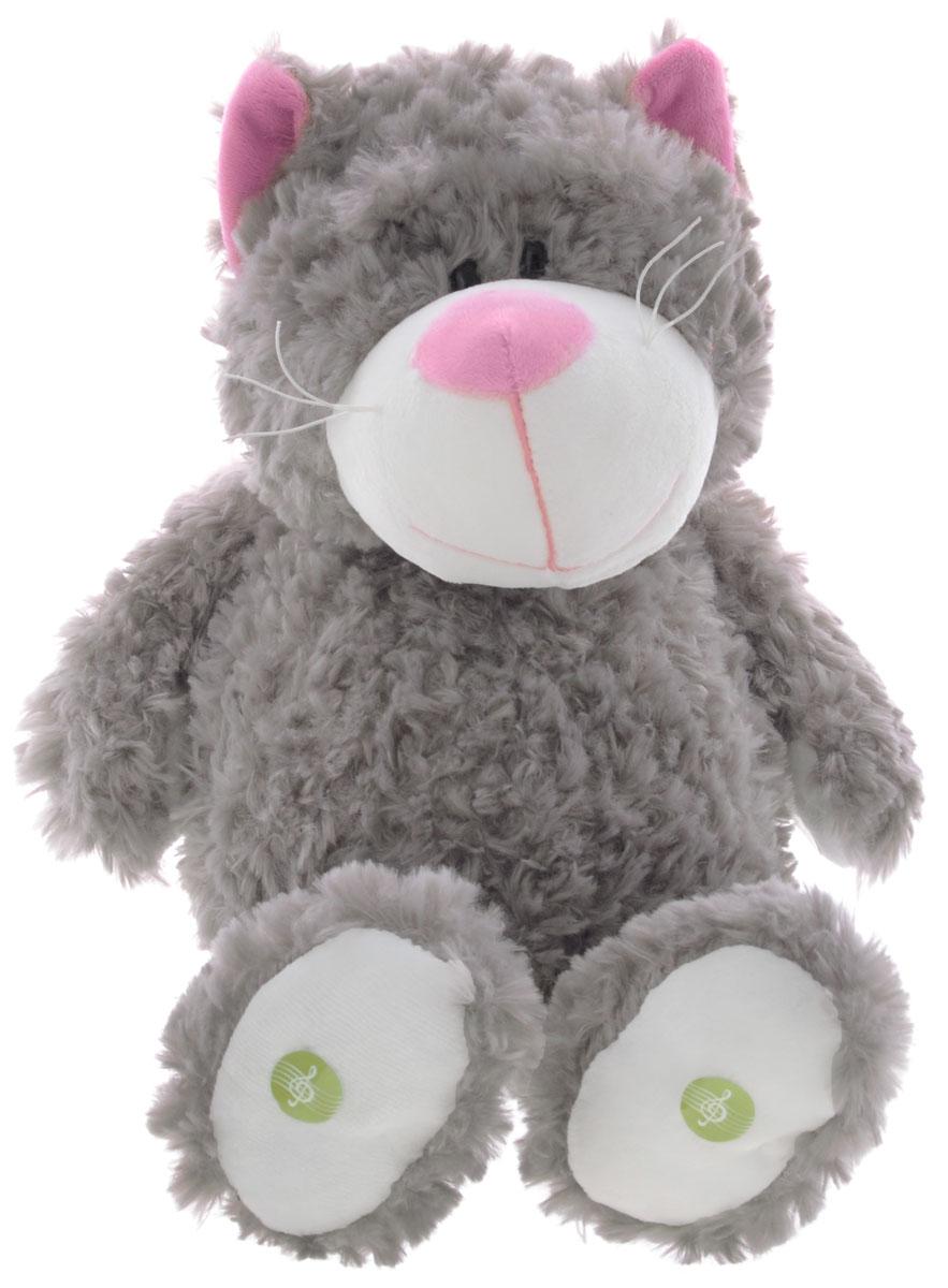 Plush Apple Мягкая озвученная игрушка Кошка 36 см