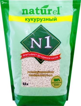 Наполнитель №1 Naturel Кукурузный, для кошачьего туалета, комкующийся, 4,5 л43524Наполнитель №1 Naturel Кукурузный - это принципиально новое природное решение в области гигиены для домашних животных. Он создан на основе инновационной Австралийской технологии. Комкующийся наполнитель Naturel - 100% натуральный продукт. Изготовлен из очищенных зерен кукурузы с повышенным содержанием кукурузного крахмала, исключительно без добавления сердцевины початков. Естественные свойства натуральных растительных волокон позволяют добиваться хорошего комкующегося эффекта, при значительной экономии самого продукта. Комкующиеся наполнители отличаются способностью образовывать после впитывания комочки, которые легко убираются из туалета, что не требует замены всего объема наполнителя. 100% био-разложимый продукт. Сверхэкономичен. Удобство в использовании - утилизируется в туалет (для тех, кто заботится об окружающей среды и экологии). Не содержит никаких побочных добавок или химических составляющих.