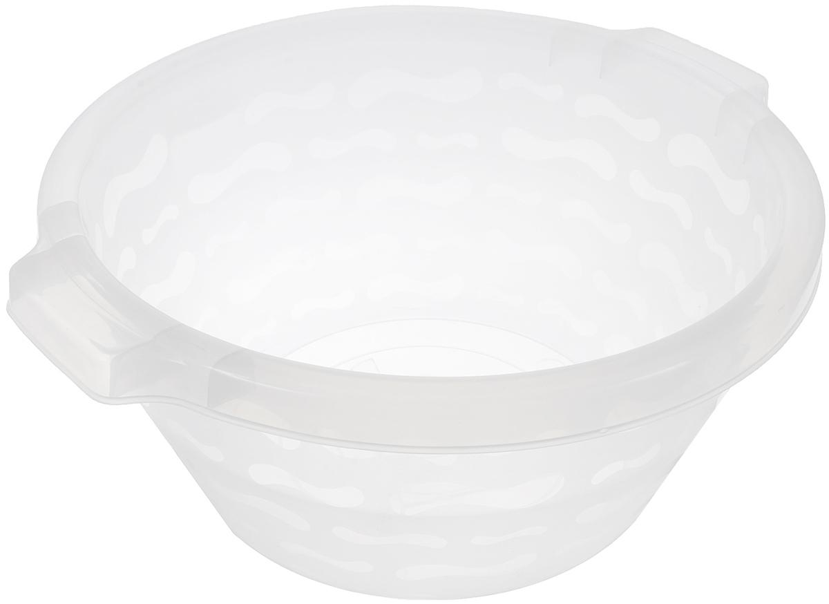 Таз Gensini, цвет: прозрачный, 14 л2431_прозрачныйТаз Gensini изготовлен из высококачественного полупрозрачного пластика. Он выполнен в классическом круглом варианте. Для удобного использования таз снабжен двумя ручками.Благодаря легкости и современному дизайну таз Gensini станет незаменимым помощником и отлично впишется в интерьер вашей ванной комнаты.Диаметр (по верхнему краю): 39 см.Высота таза: 18 см.