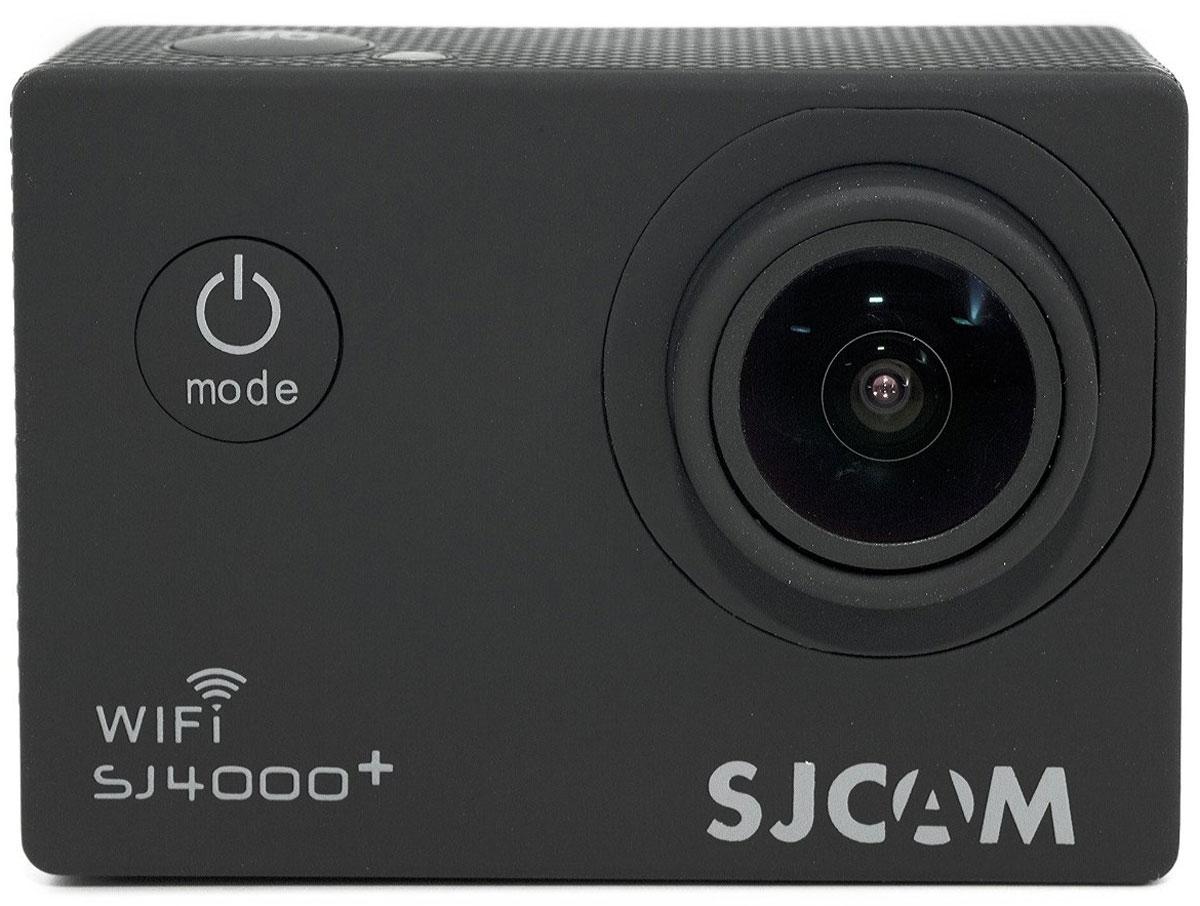 SJCAM SJ4000 Plus, Black экшн-камера экшн камера sjcam sj4000 черный sj4000black