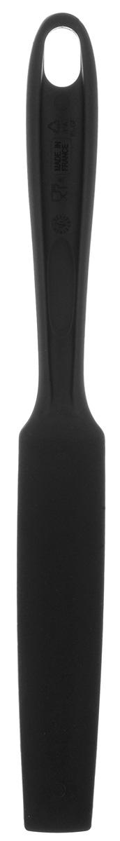 Лопатка блинная Tefal Bienvenue, длина 32 см2027449120Блинная лопатка Tefal Bienvenue изготовлена из прочного пищевого пластика, который выдерживает температуру до 220°С. Изделие оснащено длинной узкой рабочей частью, поэтому идеально подходит для переворачивания блинов. На ручке имеется отверстие для подвеса. Блинная лопатка - незаменимый аксессуар на кухне любой хозяйки. Можно мыть в посудомоечной машине. Размер рабочей части: 16 см х 3,5 см. Длина лопатки: 32 см.