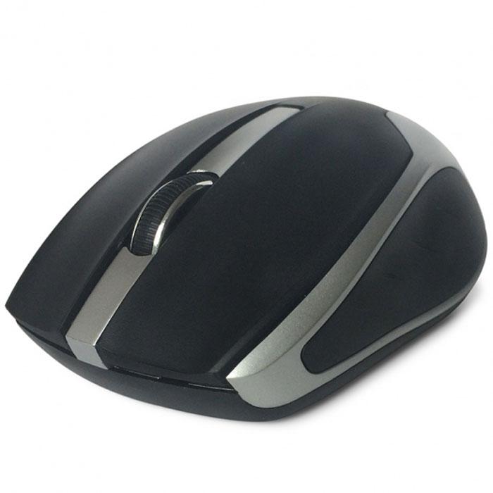 CBR CM 422, Black мышь беспроводнаяCM 422 BlackCBR CM 422 - это яркая представительница в линейке беспроводных мышей. Среднеразмерный корпус выполнен из глянцевого пластика с вставками металлик. Благодаря симметричному корпусу, устройство подойдет как для правшей, так и для левшей. Особенностью этой модели является сочетание серьезного оптического сенсора 1600 dpi, обеспечивающего высокую точность позиционирования курсора, и длительного срока работы батареи. Оптимизированное энергопотребление позволяет одной батарейке прослужить до 36 месяцев.Это расчетная величина для источника питания с емкостью не менее 2700 мА/ч. Мышь подключается к компьютеру при помощи USB-адаптера, входящего в комплект, использует рабочую частоту 2,4 МГц с эффективным рабочим радиусом до 10 м.